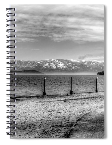 Sandpoint City Beach 2017 Spiral Notebook