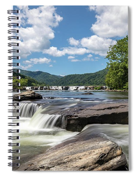 Sandstone Falls Spiral Notebook