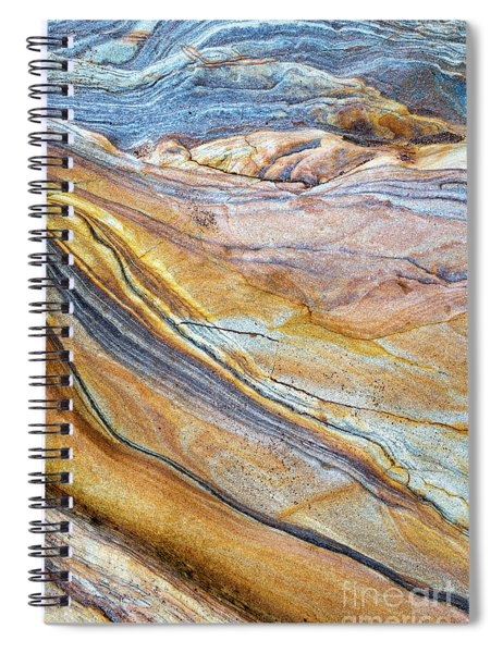 Sandstone Flow Spiral Notebook