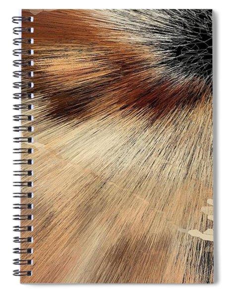 Sandy Light Speed Spiral Notebook