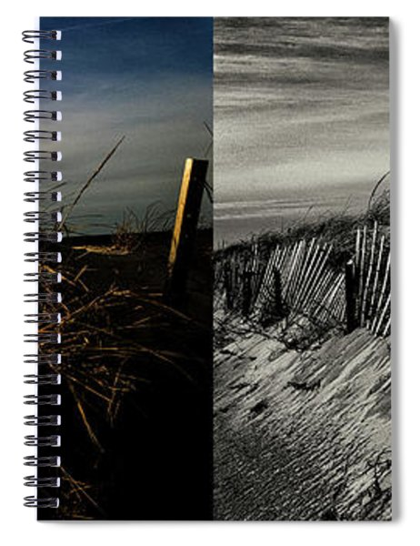 Sandy Neck Dunes Winter Light 2x Spiral Notebook