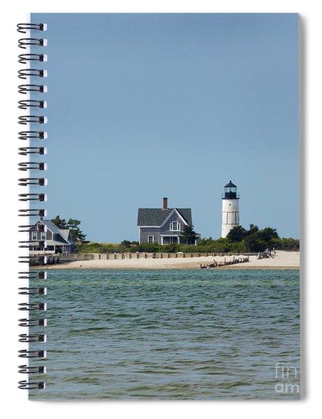 Sandy Neck Light Early June Spiral Notebook