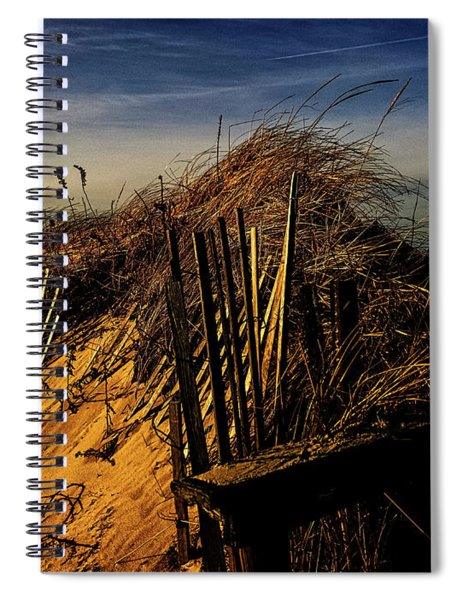 Sandy Neck Winter Light Spiral Notebook