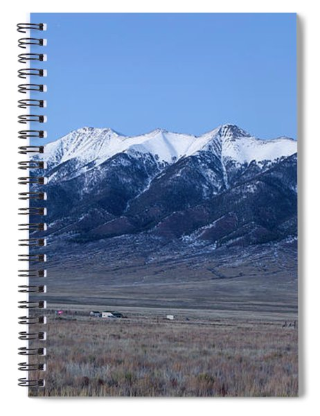 Sangre De Cristo Mountains In Evening Spiral Notebook