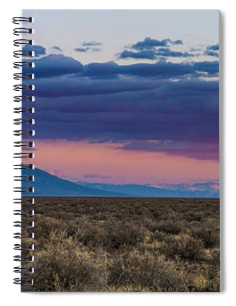 Sangre De Cristo Sunset Spiral Notebook