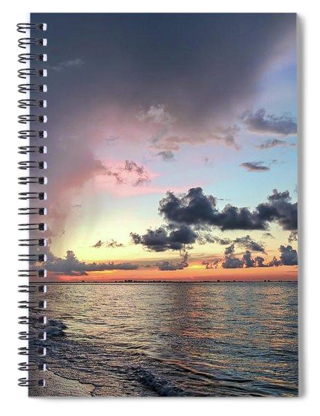 Sanibel Island Sunrise Spiral Notebook