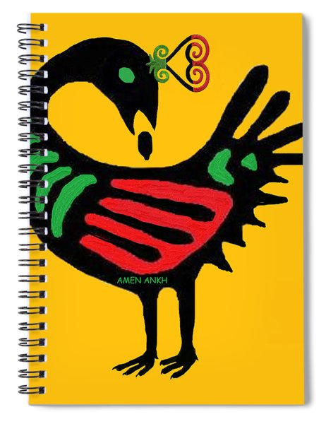 Sankofa Go Back And Fetch Spiral Notebook