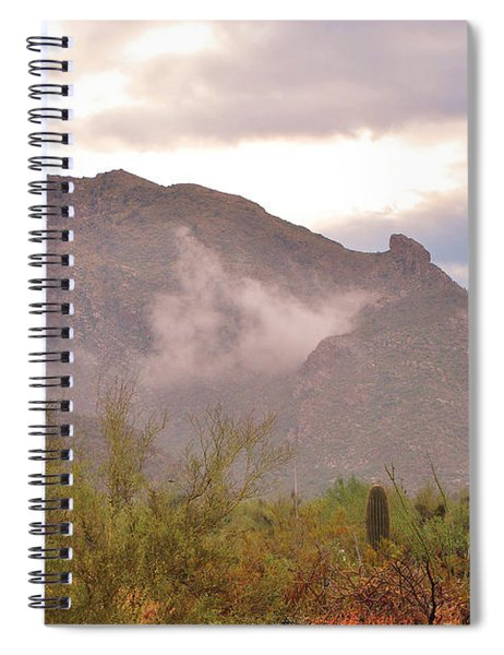 Santa Catalina Mountains II Spiral Notebook