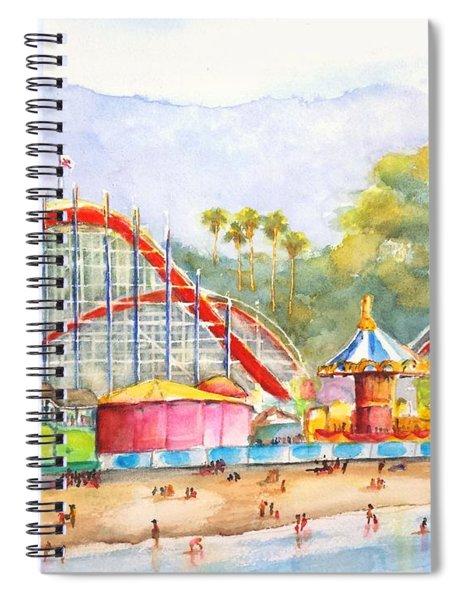 Santa Cruz Beach Boardwalk Spiral Notebook