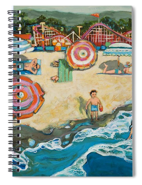 Santa Cruz Beach Boardwalk Spiral Notebook