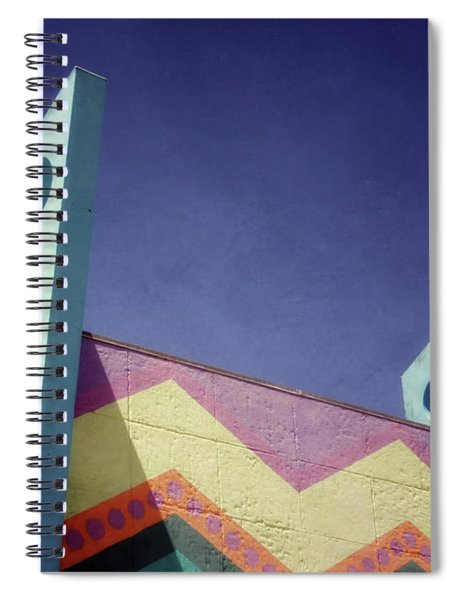 Santa Cruz Boardwalk - Photography  By Linda Woods Spiral Notebook