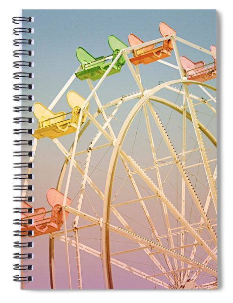 Santa Cruz Ferris Wheel Spiral Notebook