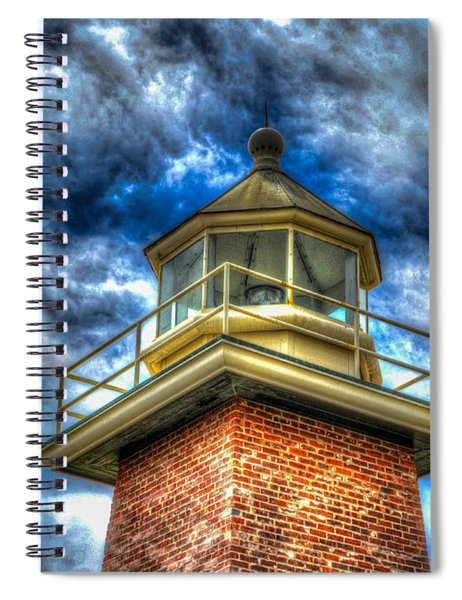 Santa Cruz Light Spiral Notebook