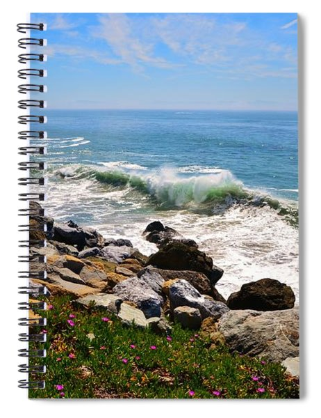Santa Cruz Surf Spiral Notebook