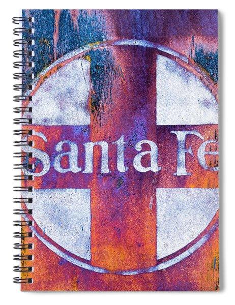 Santa Fe Rr Spiral Notebook by Lou Novick