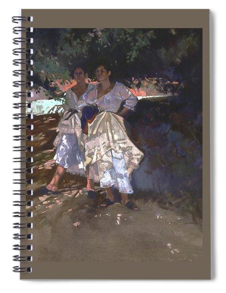 Santa Fe Shade Spiral Notebook