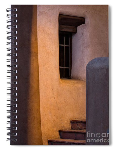 Santa Fe Steps Spiral Notebook