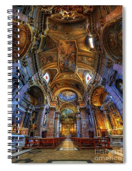 Santa Maria Maddalena Spiral Notebook
