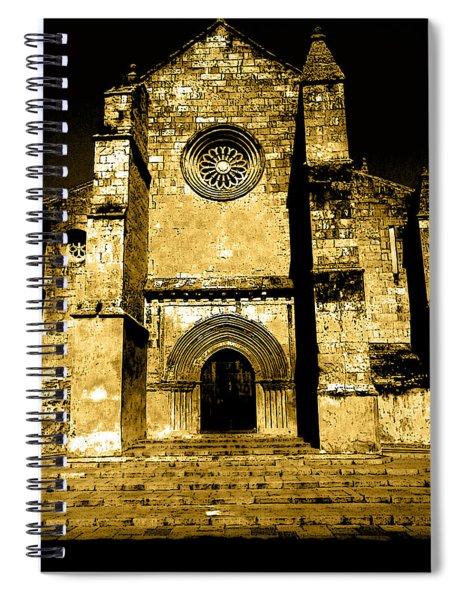 Santa Marina Church Spiral Notebook