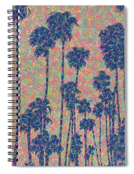 Santa Monica Spiral Notebook