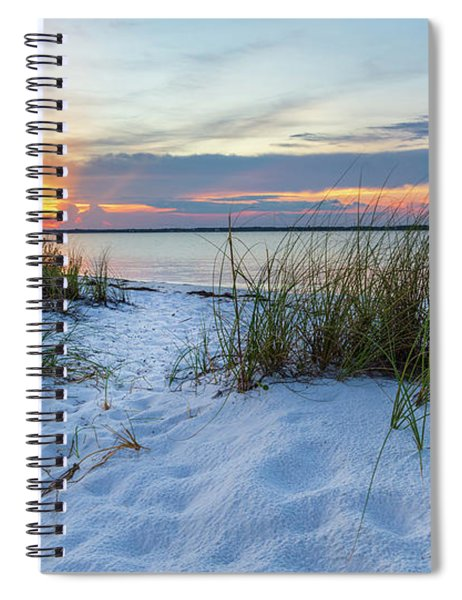 Santa Rosa Sound Sunset Spiral Notebook