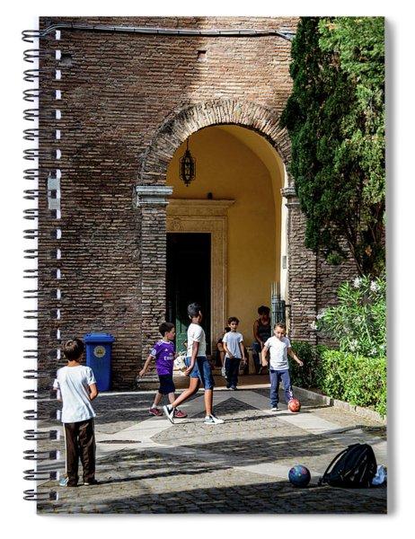 Sant'agnese Futball Spiral Notebook
