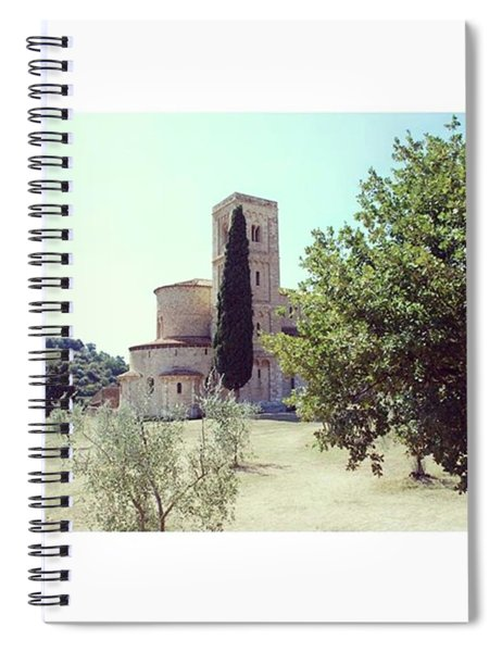 Abbey Of Sant'antimo Spiral Notebook