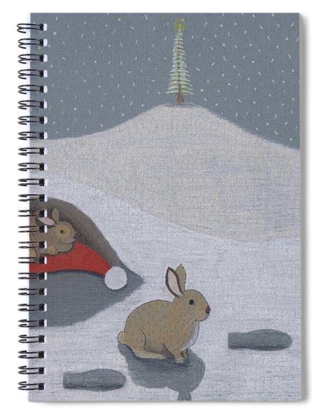 Santa's Ultimate Gift Spiral Notebook