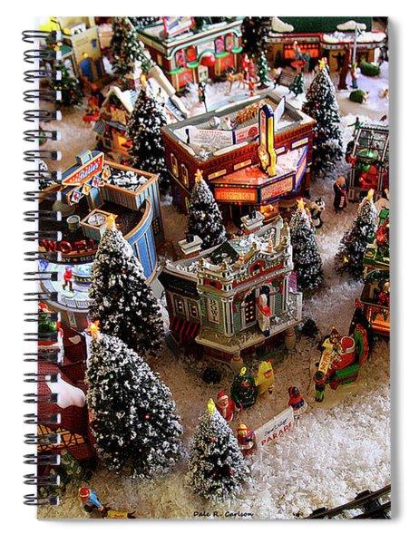 Santa's Village Spiral Notebook