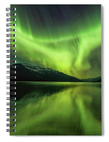 Santa's Wake Spiral Notebook