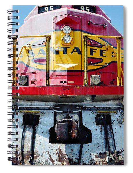 Sante Fe Railway Spiral Notebook