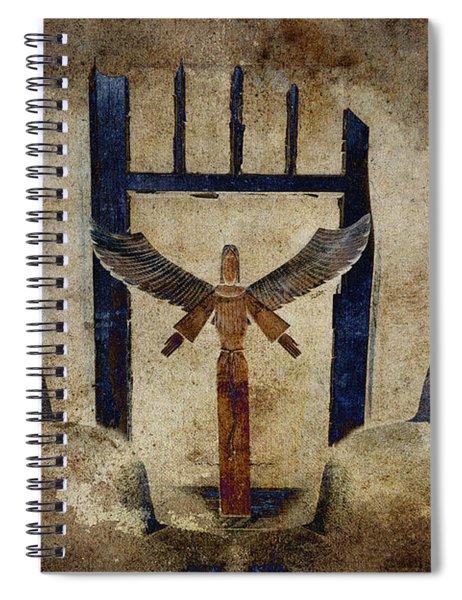 Santo Spiral Notebook