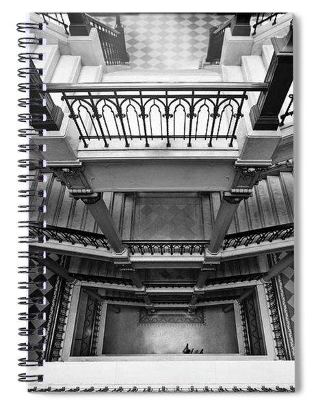 Sao Paulo - Gorgeous Staircases Spiral Notebook