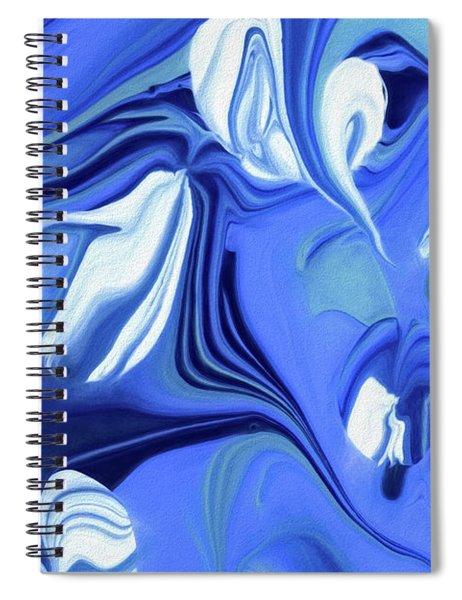 Sapphire Dreams Spiral Notebook