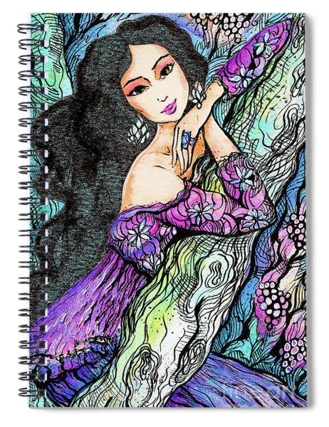 Sapphire Forest Spiral Notebook