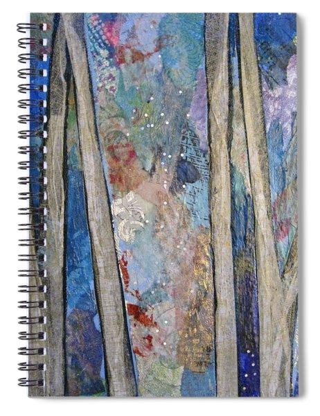 Sapphire Forest I Spiral Notebook
