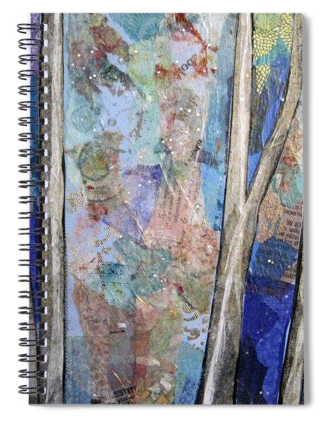 Sapphire Forest II Spiral Notebook