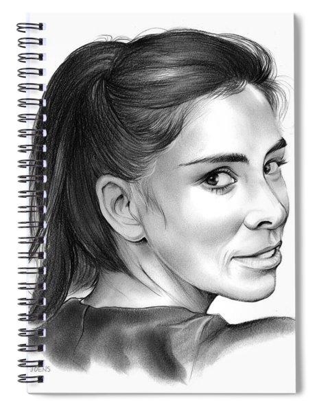 Sarah Silverman Spiral Notebook