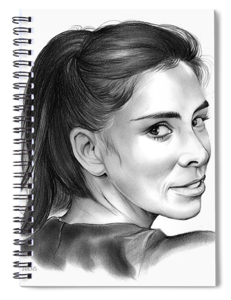Sarah Silverman Spiral Notebook