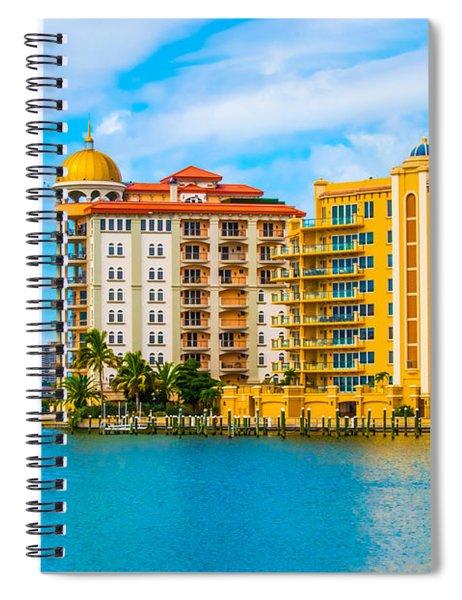 Sarasota Architecture Spiral Notebook