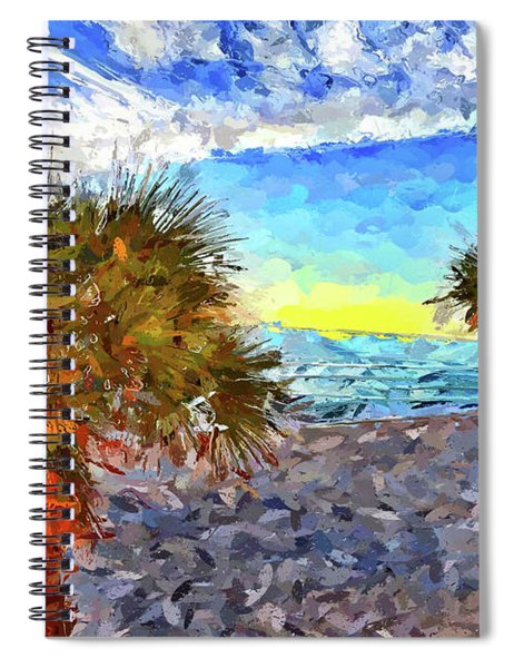 Sarasota Beach Florida Spiral Notebook