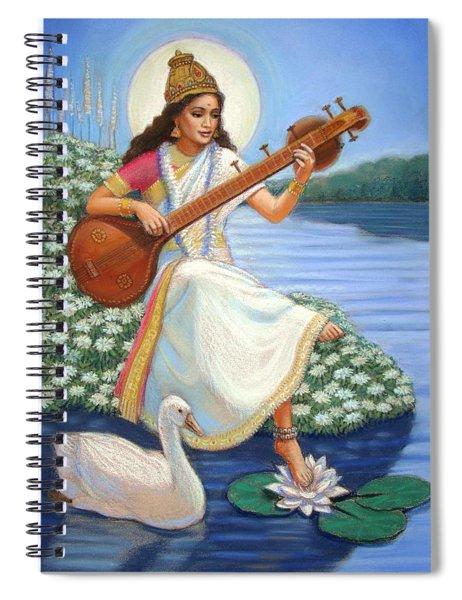 Sarasvati Spiral Notebook