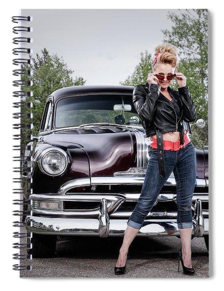 Sassy Spiral Notebook