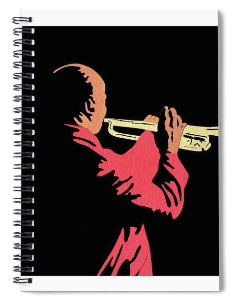 Satchmo Spiral Notebook