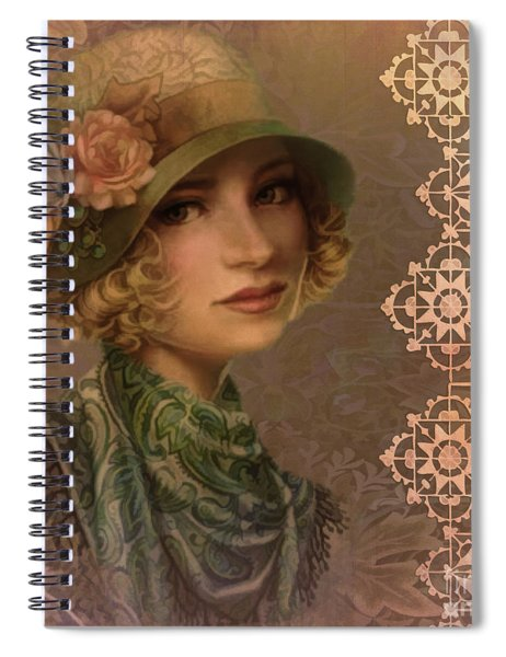 Satin And Lace 2016 Spiral Notebook