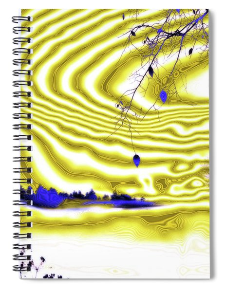 Satin And Lace Spiral Notebook by Valerie Anne Kelly