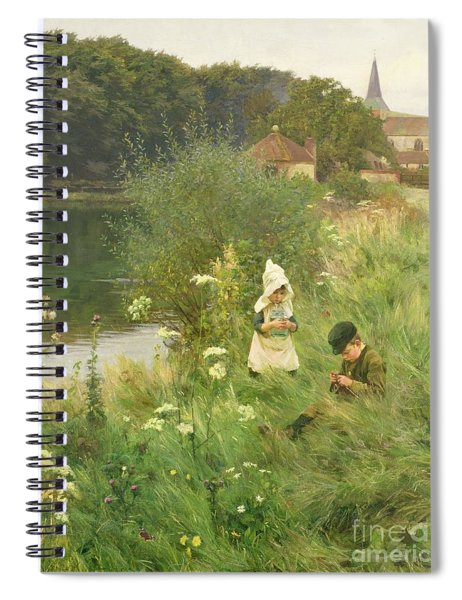 Saturday Afternoon Spiral Notebook