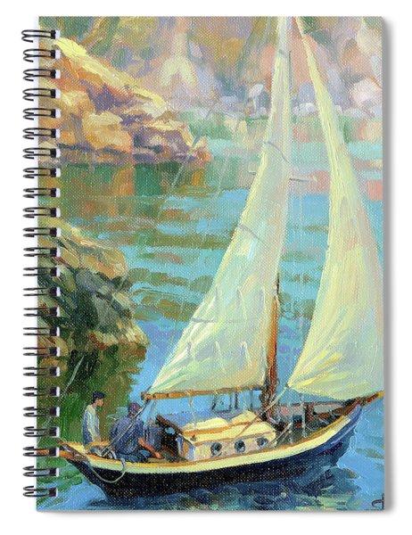 Saturday Spiral Notebook