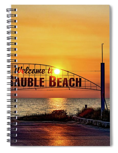 Sauble Beach Sunset 2 Spiral Notebook