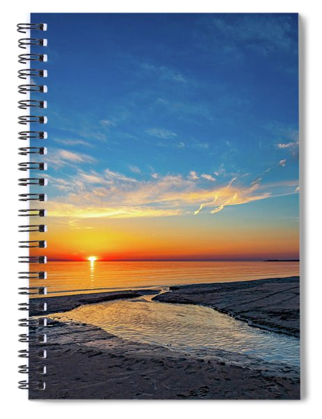 Sauble Beach Sunset 5 Spiral Notebook
